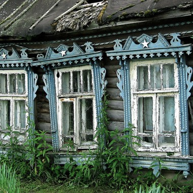 Stare rosyjskie okna