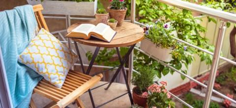 Pomysły na aranżację balkonu, tarasu i małego ogrodu według Doroty Szelągowskiej