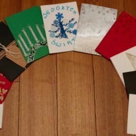 Zaskocz rodzinę samodzielnie wykonanymi kartkami świątecznymi!