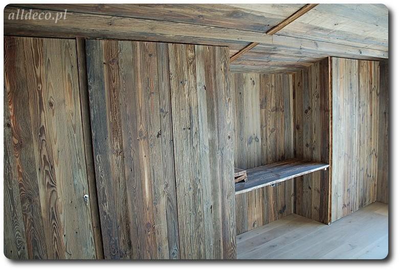 Zdjęcie 33 W Aranżacji Szafy Wnękowe Ze Starego Drewna