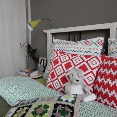 w sypialni bez zmian, ale akcenty okolicznościowe muszą się znaleźć &#x3B;)