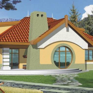dom z antresolą