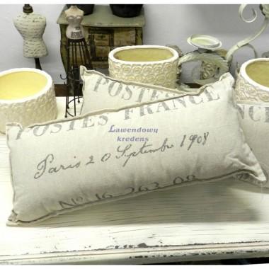Poduszki w stylu prowansalskim