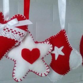 świąteczne dekoracje :)