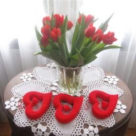 Wiosennie i Walentynkowo.