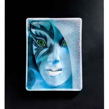 Mikan: kryształowe obrazy ledowe od Matsa Jonassona