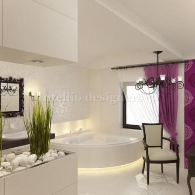 Projekt aranżacji salonu kąpielowego