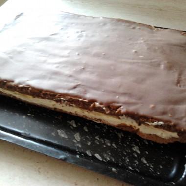 """Ciasto o nazwie """"Mleczna kanapka"""""""