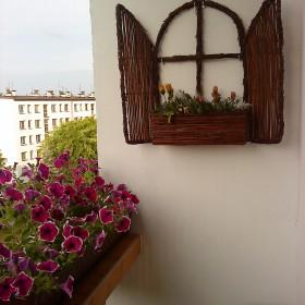 Balkon w bloku...