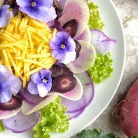 Piękne i smaczne, kwiaty jadalne