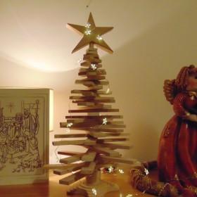 Ozdoby świąteczne wykonane wspólnie......