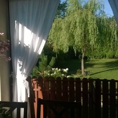 Wakacje już na półmetku, lato łaskawe w tym roku ... słońce i odpowiednia ilość deszczu to raj dla roślin. Ja jak zawsze  w biegu... I dziś wpadam na chwilkę pokazać letnie, ogrodowe migawki. Pomiędzy remontem pokoju syna,a malowaniem pozostałych pomieszczeń w domu nie mogło zabraknąć chwil wytchnienia  w ogrodzie...