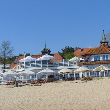 ............i bar na plaży..............