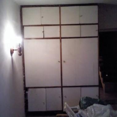 mój pokój w trakcie remontu