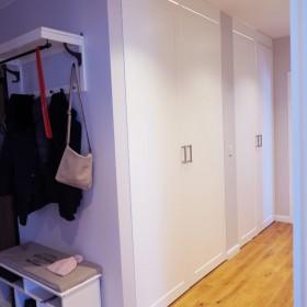 Garderoba na wymiar z frontami w stylu angielskim
