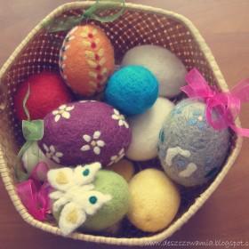 Wielkanocne Filcowe Jajka :)