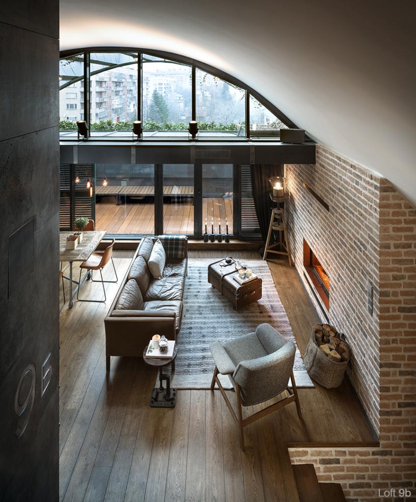 Domy i mieszkania, Loft w Sofii