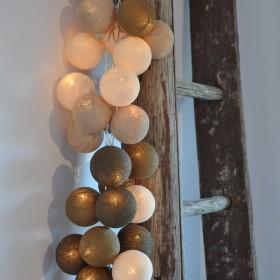 Wyjątkowy nastrój ze świecącymi girlandami Cable&Cotton