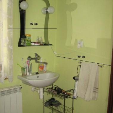 Łazienka - prośba o radę