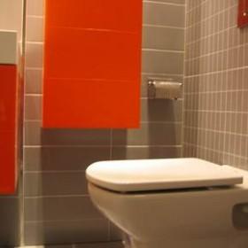 Łazienka Kolorowo szara