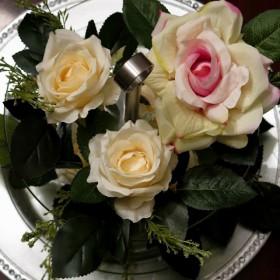 Patera pełna kwiatów