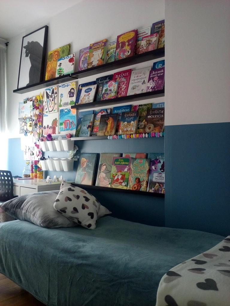 Pokój dziecięcy, azul