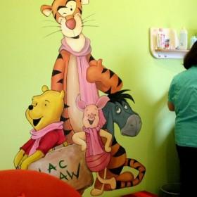artystyczne malowanie ścian / moje obrazy