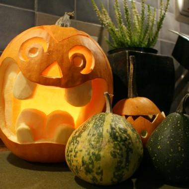 artystyczne dynie na halloween :)