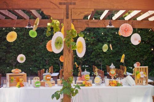 Pozostałe, Jak zrobić dekoracje na przyjęcie w ogrodzie? - Oto, jak się prezentuje!