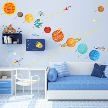 Naklejki Planety Układu Słonecznego