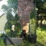 Pozostałe, Topiary -  Stelaż własnej roboty - Zdjęcie zostało wykonane zaraz po nalożeniu formy na szmaragdy wiec jeszcze nie zdazyly sie rozlozyc po swojemu Formymaja po 120cm