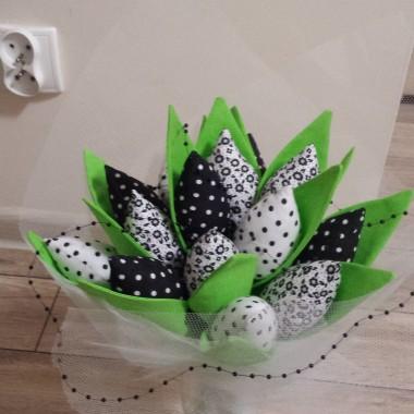 tulipany z bawelny