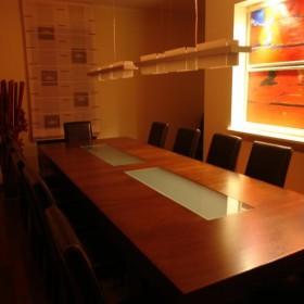 Jadalnia - nowy stół i krzesła