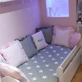 zmiany w pokoju córeczki