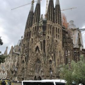 Zapraszam do wnetrza Sagrada Familia