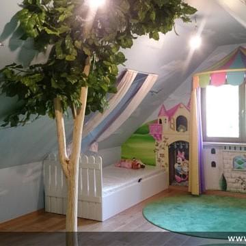 artystyczne malowanie ścian, malowidła ścienne, malunki na ścianie, pokój dziecięcy, pokój dla dziecka, pokój dla dziewczynki, pokój dla dziewczynki, dekoracja ścian, Disney, Elsa