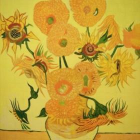 słoneczniki  van Goga
