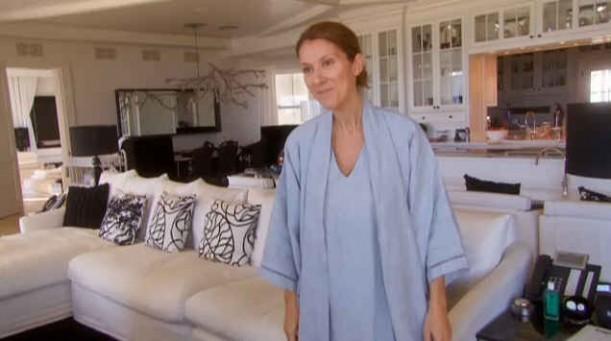 Pozostałe, Celine Dion w swoim domu