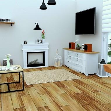 Projekt salonu w nowoczesnym stylu rustykalnym:http://dekostacja.pl/2018/03/06/projekt-salonu/