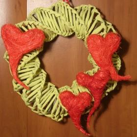 Walentynkowa dekoracja