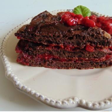 .............i pyszny torcik czekoladowy.................