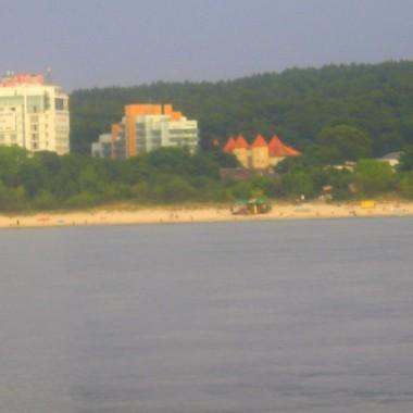 I znowu widok z morza na ląd :-)