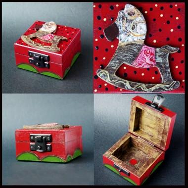 pudełeczka malusie czyli drewnianeręczniemalowane