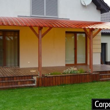zadaszenie tarasu z drewna zadaszenia tarasów projekty pergola altana