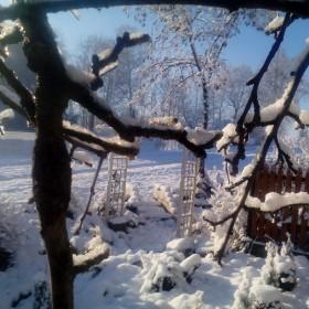 Śnieżne dekoracje!