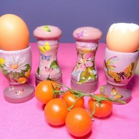 Wiosenne decoupage w kuchni :)