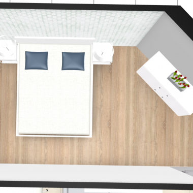 Sypialnia 1 - koncepcja