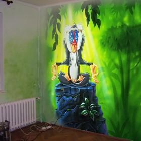 malunki na ścianach - dla dzieci