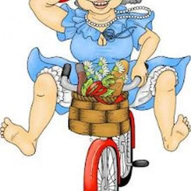wracam do domu rowerem