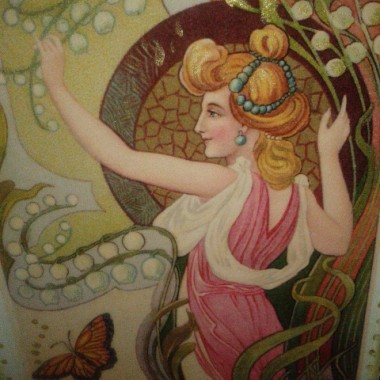 Bachantka w orszaku Dionizosa....:)